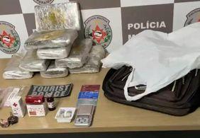 Homem é detido em ponto turístico de JP com drogas