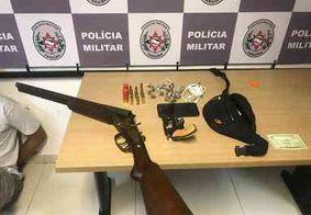Dupla é detida com armas e drogas em comunidade da Grande João Pessoa