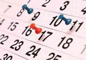 Número de feriados prolongados em 2020 será quase o dobro de 2019