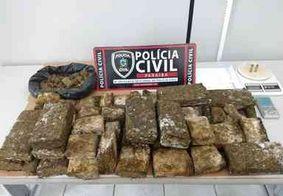 Polícia desativa ponto de tráfico, apreende munição, cocaína e 15 kg de maconha, na PB