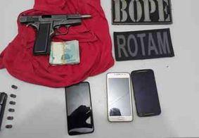 Suspeitos de ataque a banco no Sertão da PB são presos durante comemoração ao crime