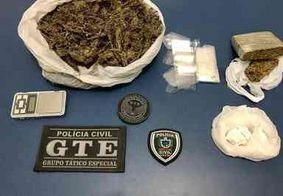 Polícia Civil desarticula 15º ponto de venda de drogas na região de Esperança