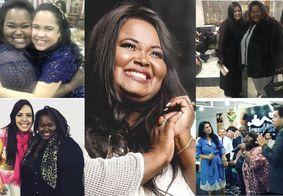 Artistas prestam última homenagem à cantora Fabiana Anastácio, vítima da Covid-19