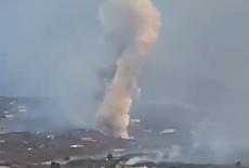 Erupção de vulcão se intensifica nas Ilhas Canárias; veja