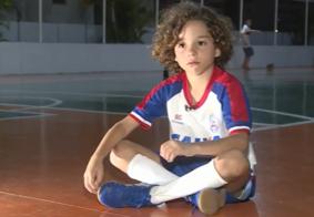 Vídeo: Henri manda bem com a bola nos pés