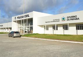 Central de Polícia Civil, em João Pessoa.
