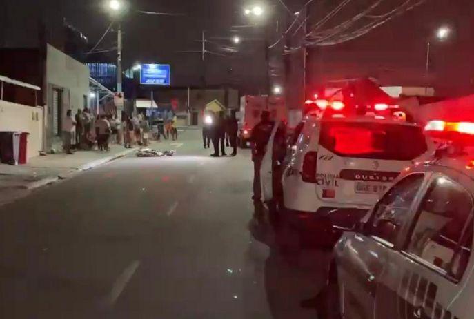 Equipes do Samu e polícia foram acionadas