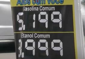 Vídeo: gasolina já é vendida a R$ 5,19 em João Pessoa
