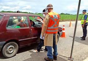 Homem causa confusão em barreira sanitária e é detido, em Alagoas