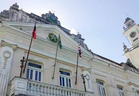 Palácio da Redenção, sede do governo da Paraíba, em João Pessoa