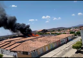 Incêndio atinge prédio da prefeitura de cidade paraibana; veja