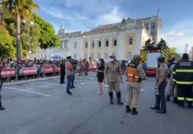 Corpo de Zé Maranhão deixa Palácio da Redenção e segue em cortejo para o Altiplano