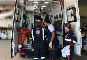 Atropelamento deixa jovem de 15 anos gravemente ferido no Valentina Figueiredo