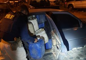 PRF flagra furto de combustível próximo ao Porto de Cabedelo, na Paraíba