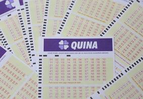 Confira os números da Quina e de mais 3 concursos acumulados nesta quinta-feira (28)