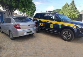Carro roubado há 5 anos é recuperado na Paraíba