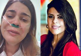"""Em leito com Covid-19, cantora paraibana desabafa: """"Não subestime, é assustador"""""""
