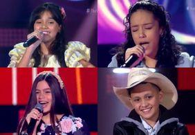 Conheça os quatro representantes da Paraíba no 'The Voice Kids'