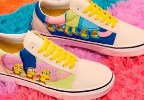 Empresa anuncia coleção de tênis e roupas para homenagear 'Os Simpsons'