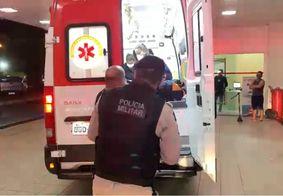 Homem de 35 anos é baleado na boca em Jacumã