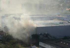 Incêndio causado por bituca de cigarro atinge shopping em Campina Grande