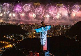 Revéillon de Copacabana, no Rio de Janeiro