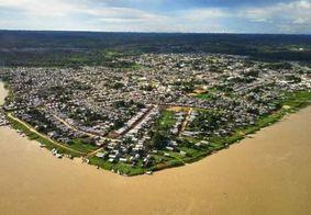 Tarauacá, nas imediações onde o tremor aconteceu