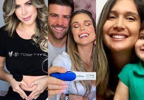 Veja as três famosas que anunciaram gravidez neste Dia das Mães