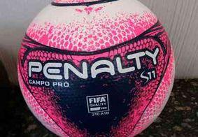 Penalty Campo PRO S11: conheça a bola do Campeonato Paraibano 2018