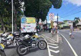 Vídeo: homem é atropelado por ônibus no Parque da Lagoa, em João Pessoa