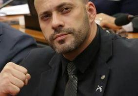 Justiça bloqueia contas de Daniel Silveira nas redes sociais