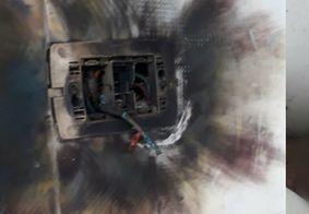 Criança de 9 anos é internada na UTI após ser atingida por raio