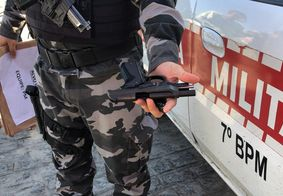 Armas de fogo foram apreendidas durante operação