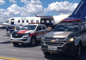 Polícia da PB suspeita de envolvimento de empresa de táxi aéreo com transporte de drogas
