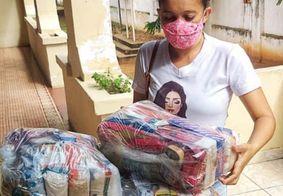 Distribuição de cestas básicas para alunos do Estado começa nesta sexta (26)