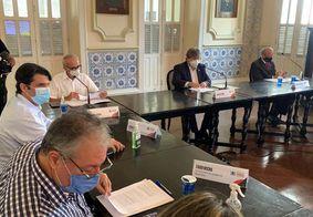 Novo decreto: Reunião entre governador e prefeito de JP define regras menos restritivas