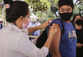 João Pessoa começa a vacinar jovens com 14 anos ou mais nesta quarta (20)