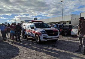 Suspeitos foram encaminhados à Central de Polícia, em João Pessoa