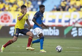 Brasil empata em 0 a 0 contra a Colômbia nas Eliminatórias