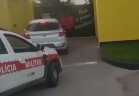 Casal suspeito de roubar carro em João Pessoa é preso na porta de motel no Litoral Norte