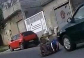 Homem atropela e mata menino que brincava com o irmão em carrinho de rolimã