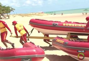 Bombeiros reforçam monitoramento de banhistas no litoral paraibano