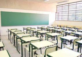 Escolas vazias durante pandemia da Covid-19.