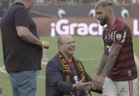 Vídeo: Gabigol ignora Witzel após vitória do Flamengo na Libertadores