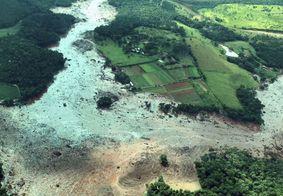 Rompimento da barragem da Vale, em Brumadinho (MG).