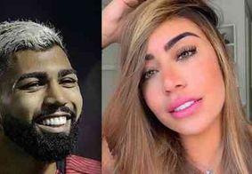 Grávida, irmã de Neymar tenta reatar namoro com Gabigol, afirma colunista