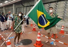 Alfabeto japonês fez Zâmbia desfilar antes do Brasil
