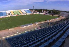 Estádio Domingão, onde o Sousa enfrentará o Atlético-CE