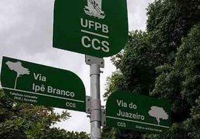 Ruas da UFPB ganham nome de plantas nativas do Nordeste