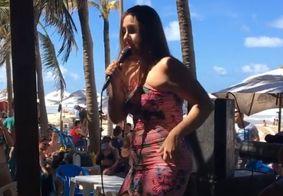 Ex-BBB Patrícia investe na carreira de cantora no Ceará